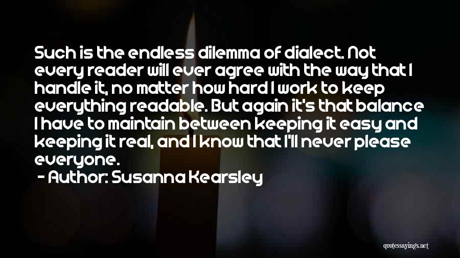 She's Hard To Handle Quotes By Susanna Kearsley