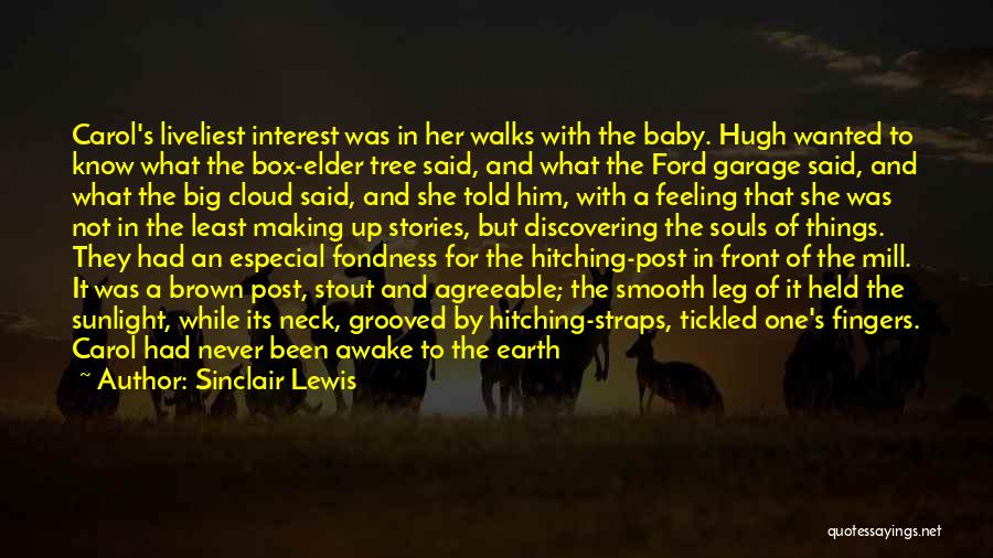 She's Having A Baby Quotes By Sinclair Lewis