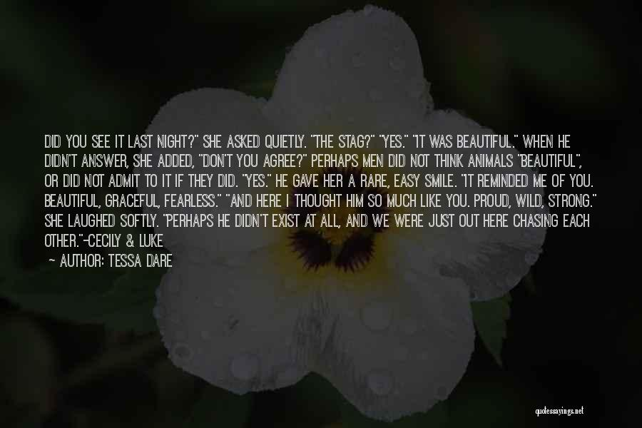 She's Not Proud Of Me Quotes By Tessa Dare