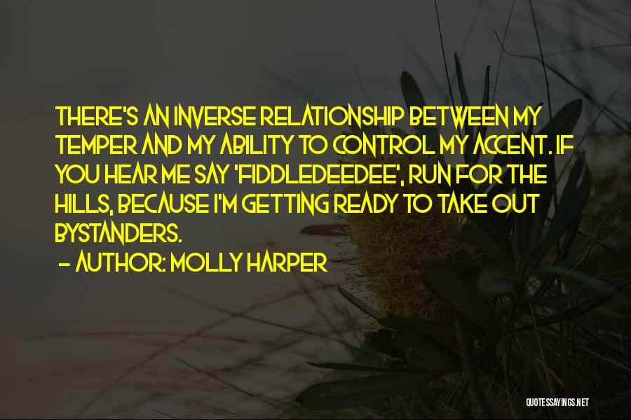 She's Not Ready For A Relationship Quotes By Molly Harper