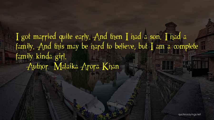 She's The Kinda Girl Quotes By Malaika Arora Khan