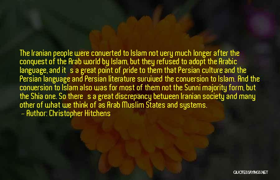 Shia Vs Sunni Quotes By Christopher Hitchens