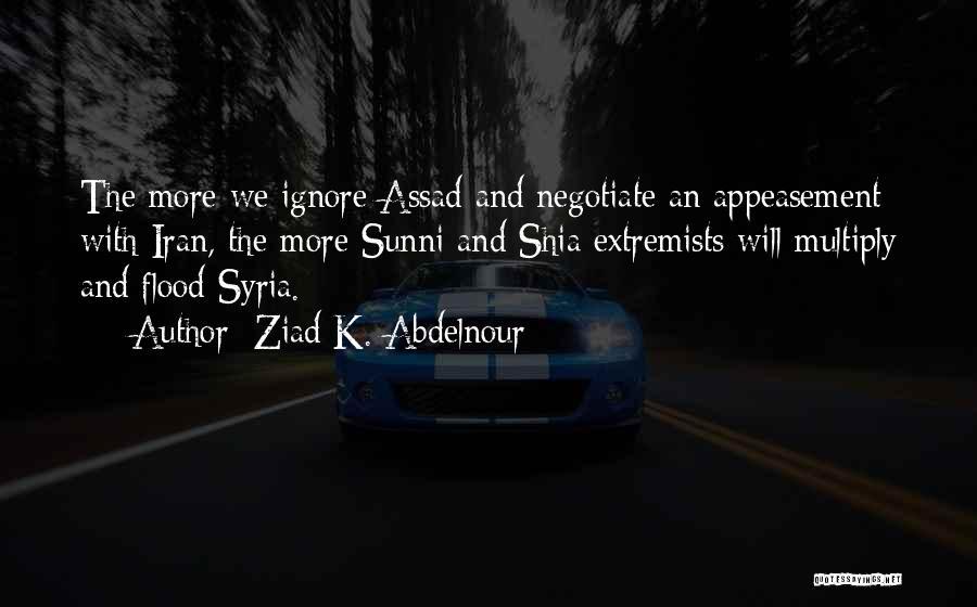 Shia Vs Sunni Quotes By Ziad K. Abdelnour