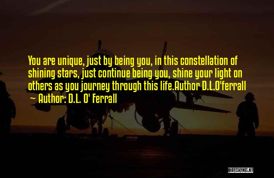 Shining Stars Quotes By D.L. O' Ferrall