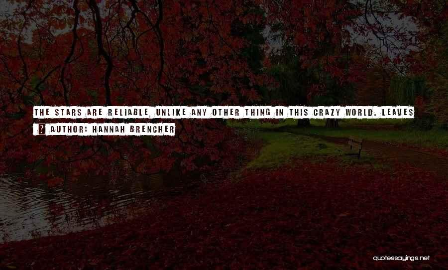Shining Stars Quotes By Hannah Brencher