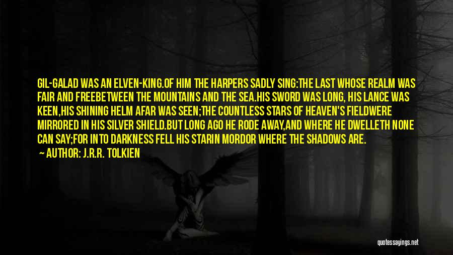 Shining Stars Quotes By J.R.R. Tolkien