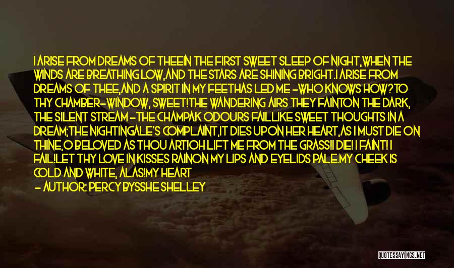 Shining Stars Quotes By Percy Bysshe Shelley