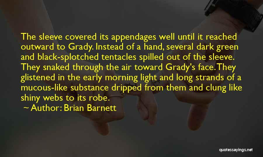 Shiny Morning Quotes By Brian Barnett
