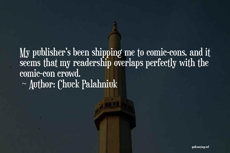 Shipping Quotes By Chuck Palahniuk