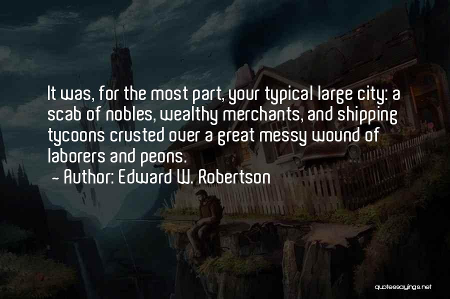 Shipping Quotes By Edward W. Robertson