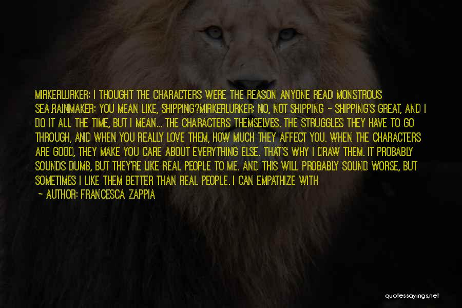 Shipping Quotes By Francesca Zappia