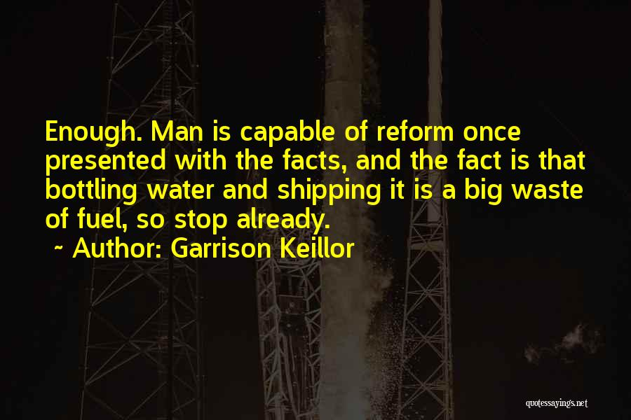 Shipping Quotes By Garrison Keillor