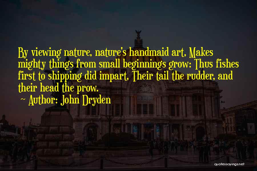 Shipping Quotes By John Dryden