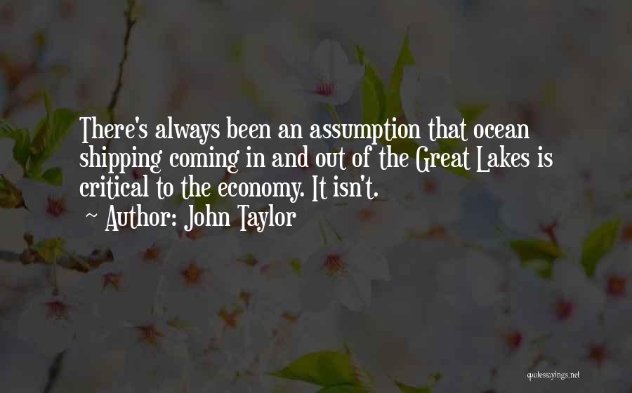 Shipping Quotes By John Taylor