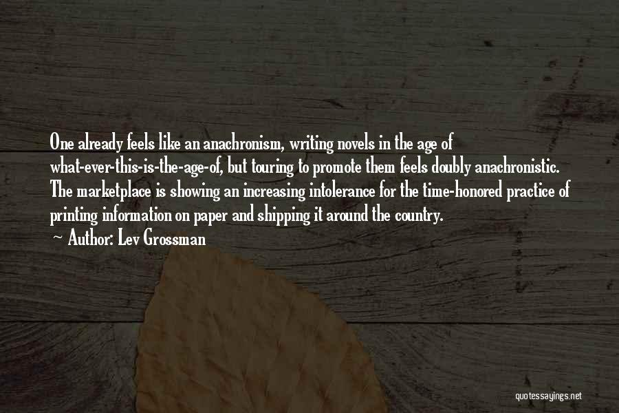 Shipping Quotes By Lev Grossman
