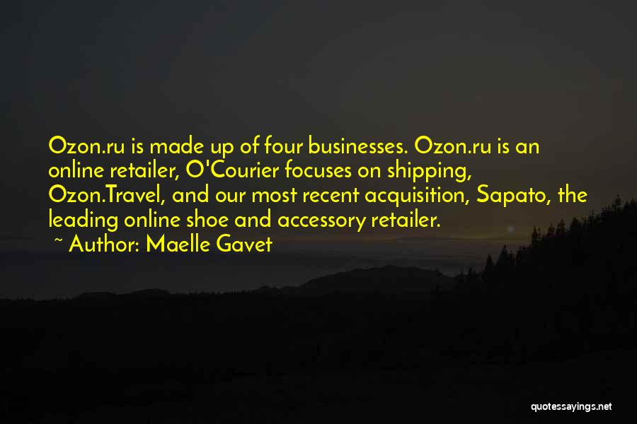 Shipping Quotes By Maelle Gavet