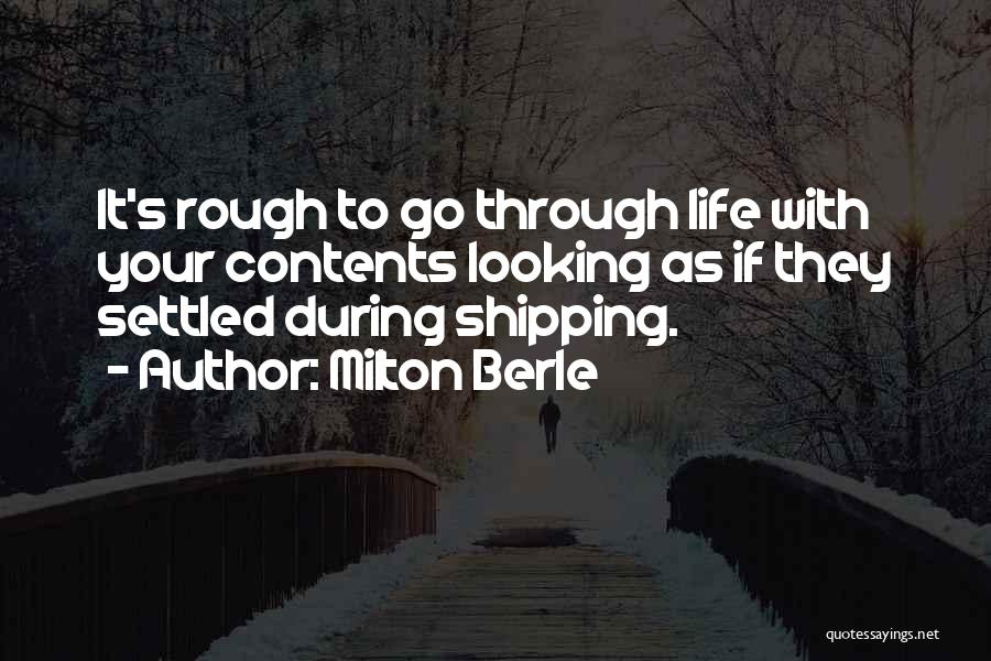 Shipping Quotes By Milton Berle
