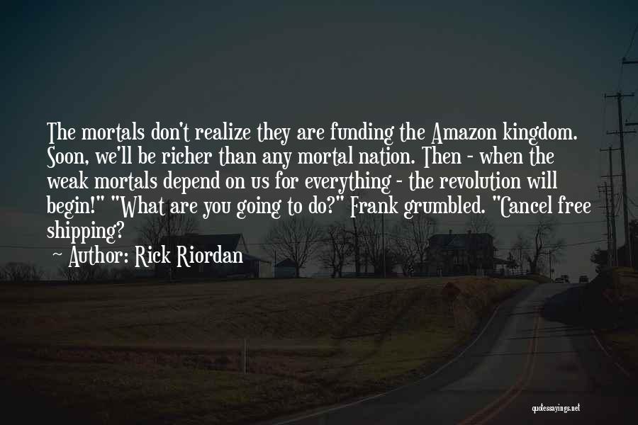 Shipping Quotes By Rick Riordan