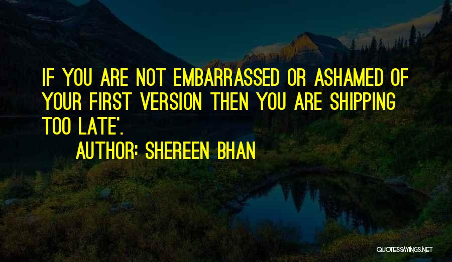 Shipping Quotes By Shereen Bhan