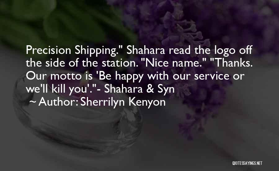 Shipping Quotes By Sherrilyn Kenyon