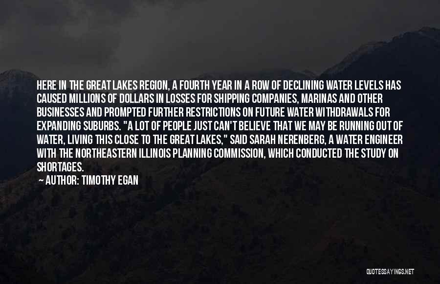 Shipping Quotes By Timothy Egan