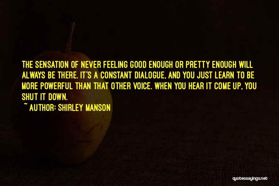Shirley Manson Quotes 486467