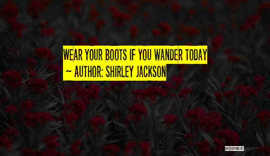 Shirley Quotes By Shirley Jackson
