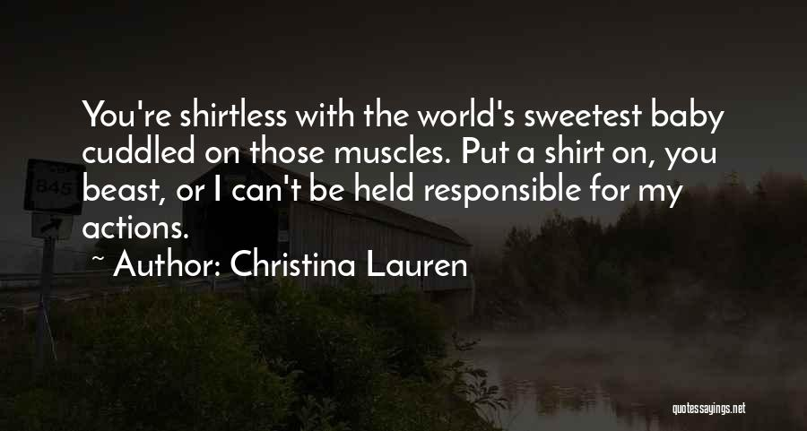 Shirtless Quotes By Christina Lauren