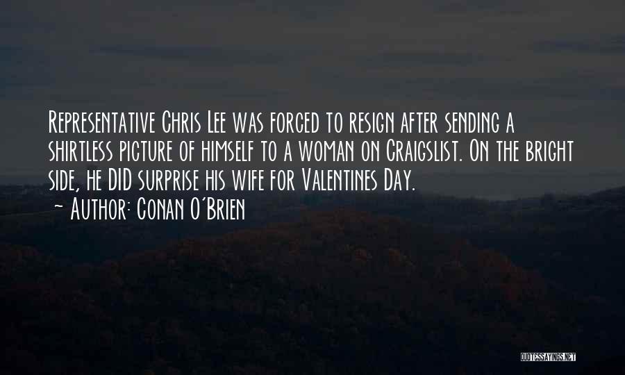 Shirtless Quotes By Conan O'Brien