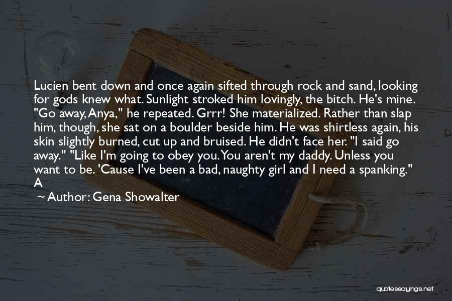 Shirtless Quotes By Gena Showalter