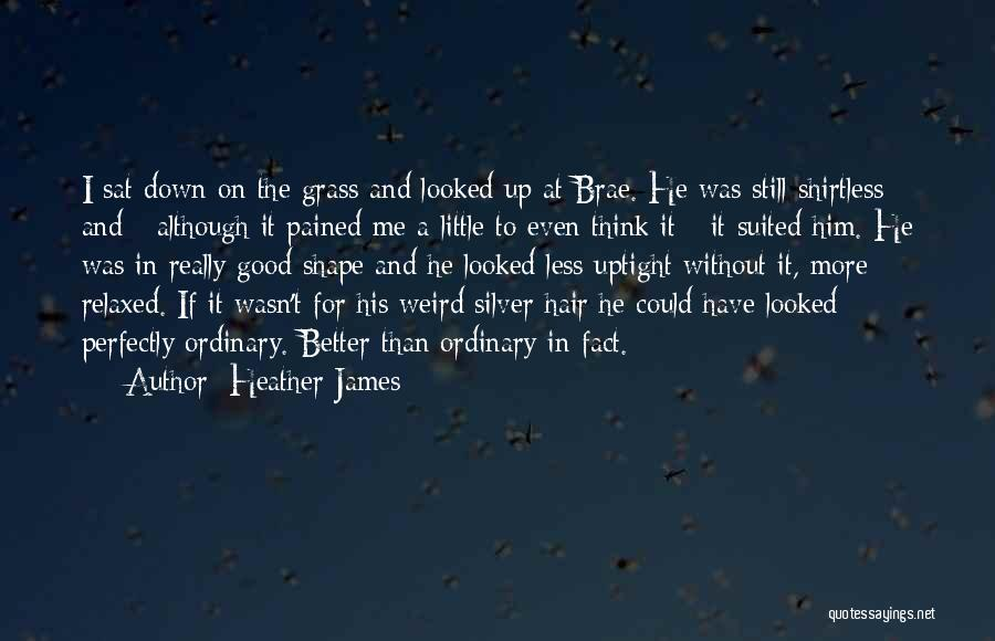 Shirtless Quotes By Heather James