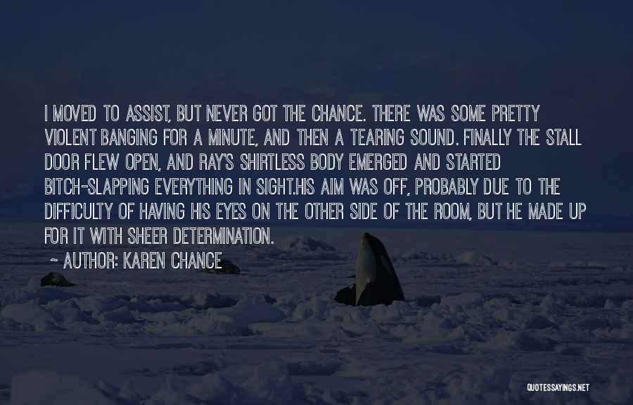 Shirtless Quotes By Karen Chance