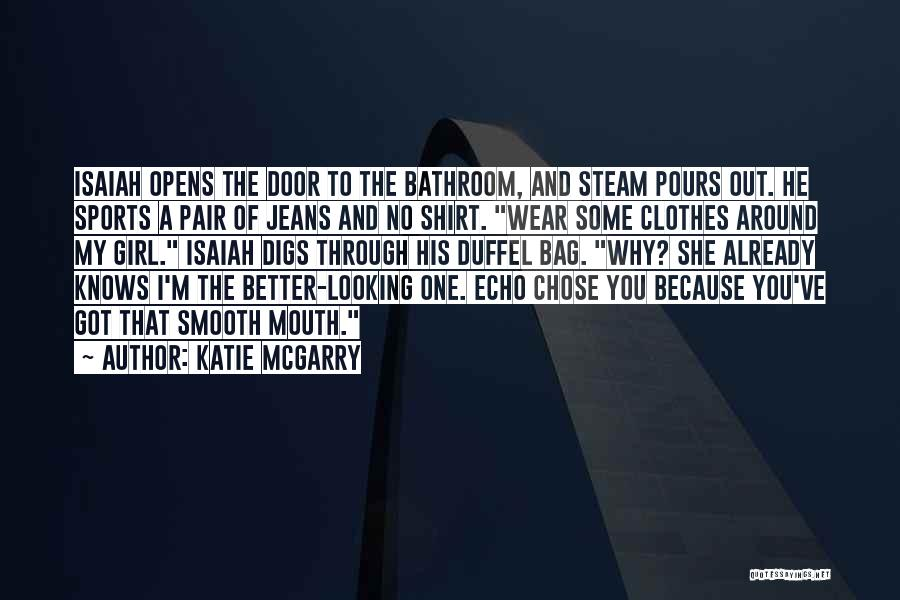 Shirtless Quotes By Katie McGarry