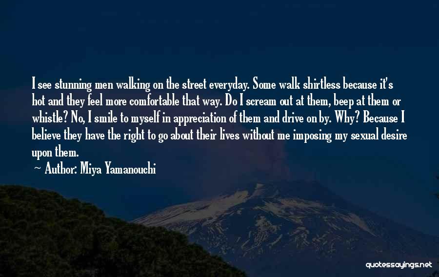 Shirtless Quotes By Miya Yamanouchi