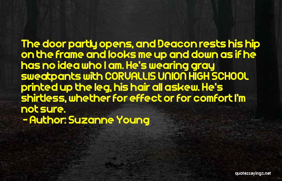 Shirtless Quotes By Suzanne Young