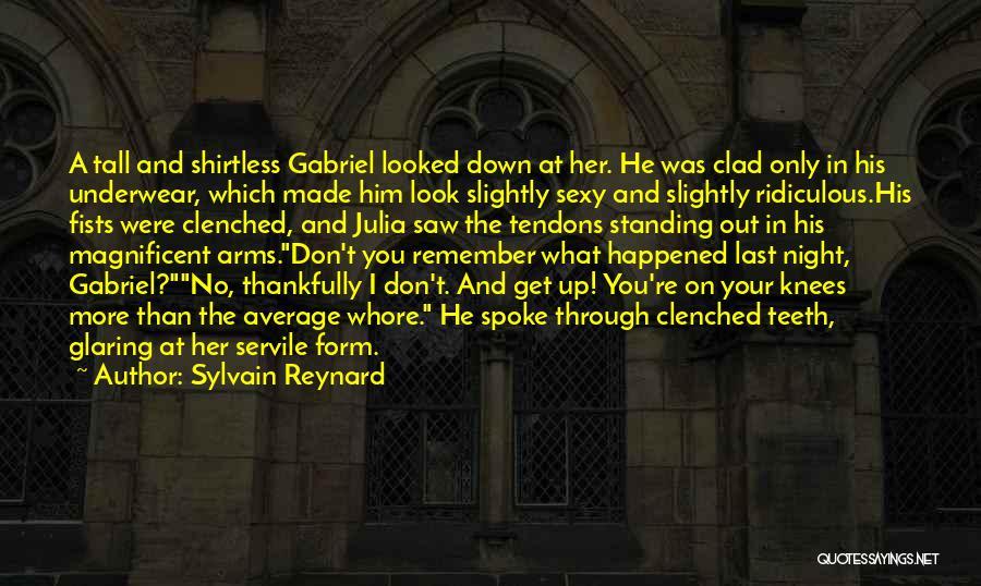 Shirtless Quotes By Sylvain Reynard
