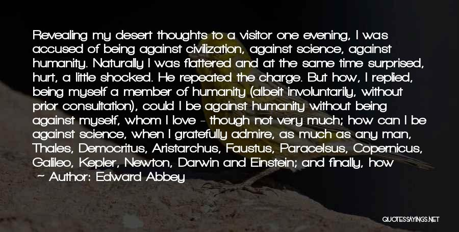 Shocked And Surprised Quotes By Edward Abbey