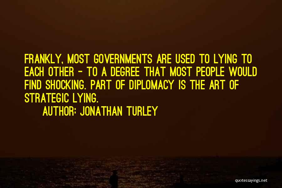 Shocking Art Quotes By Jonathan Turley