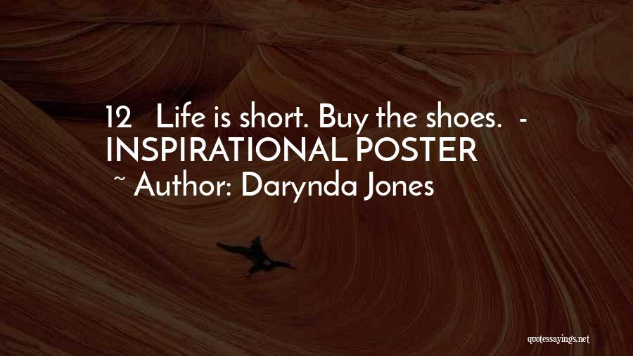 Shoes Inspirational Quotes By Darynda Jones