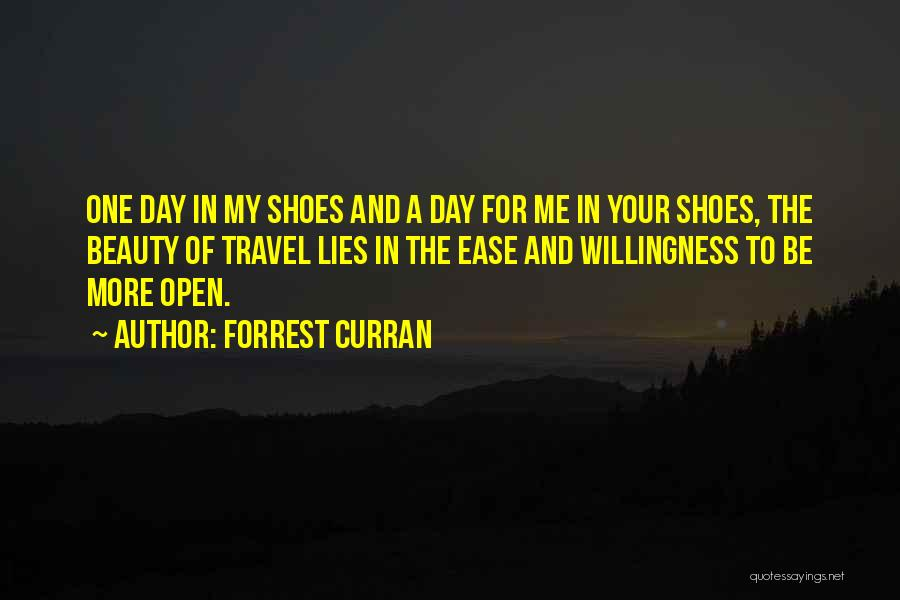 Shoes Inspirational Quotes By Forrest Curran