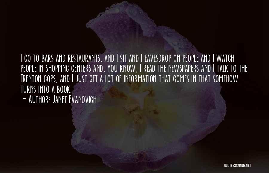 Shopping Centers Quotes By Janet Evanovich