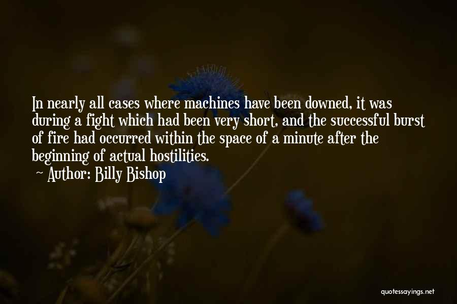 Short Beginning Quotes By Billy Bishop