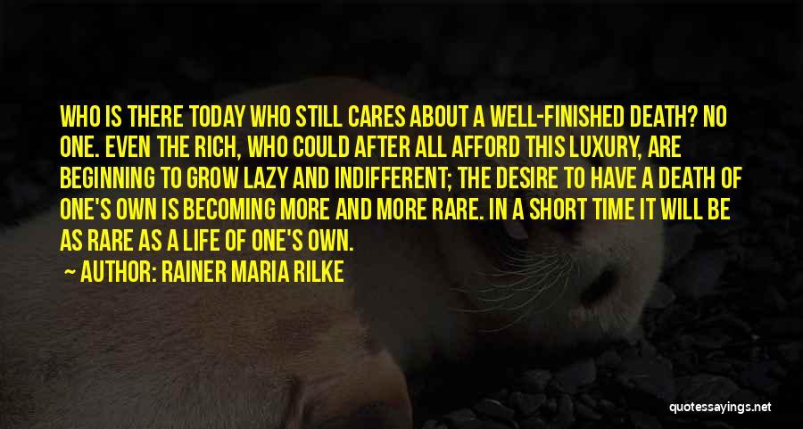 Short Beginning Quotes By Rainer Maria Rilke