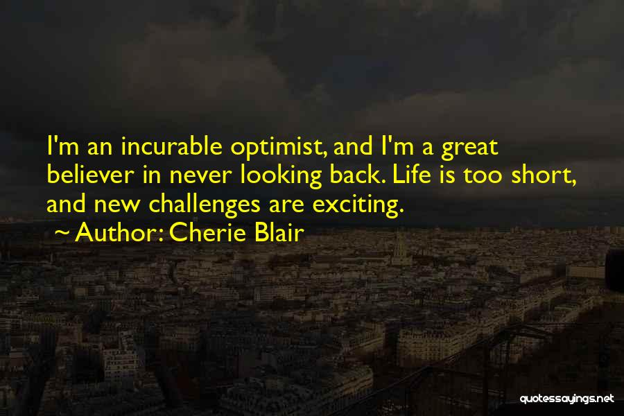 Short Challenges Quotes By Cherie Blair