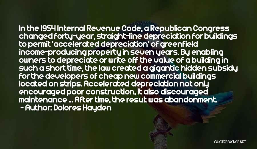 Short Changed Quotes By Dolores Hayden