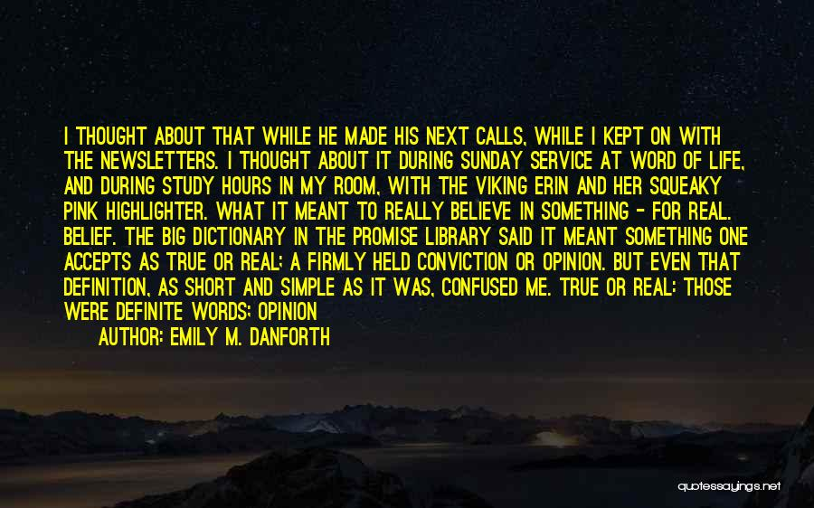Short Changed Quotes By Emily M. Danforth