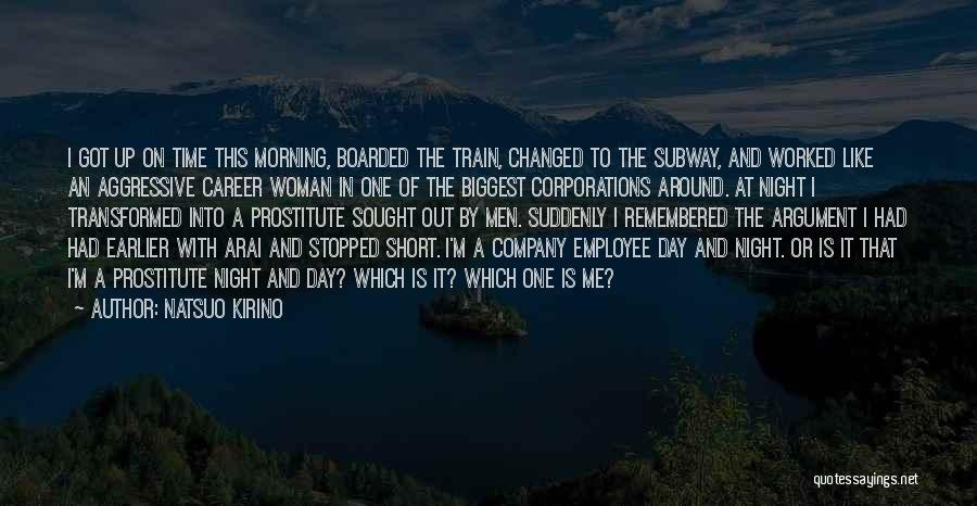 Short Changed Quotes By Natsuo Kirino
