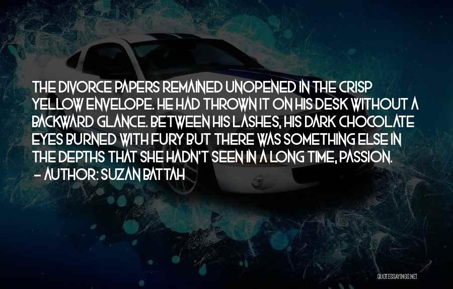 Short Crisp Quotes By Suzan Battah