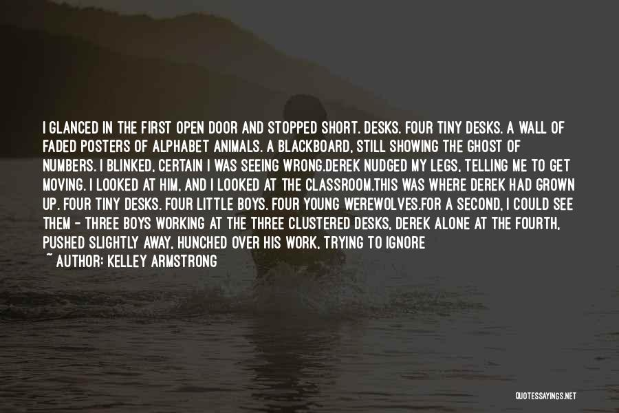 Short Ghost Quotes By Kelley Armstrong