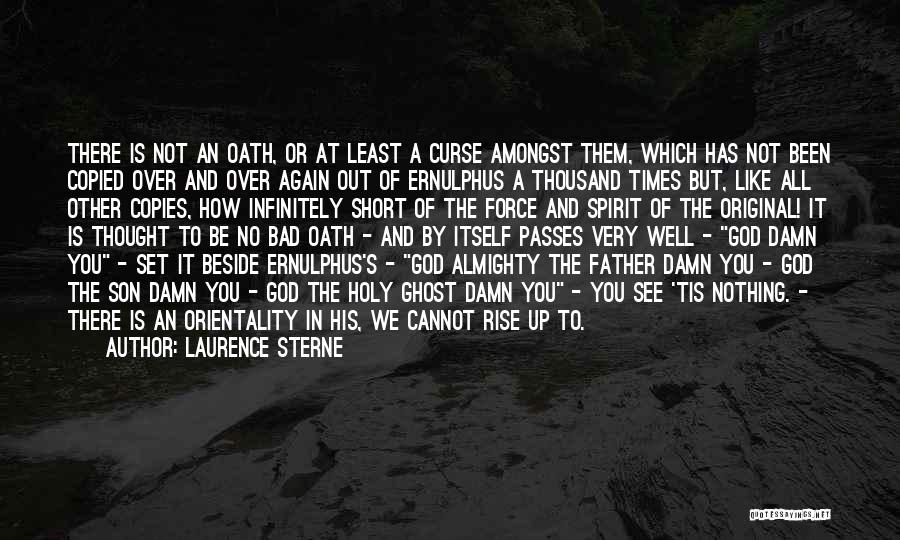 Short Ghost Quotes By Laurence Sterne